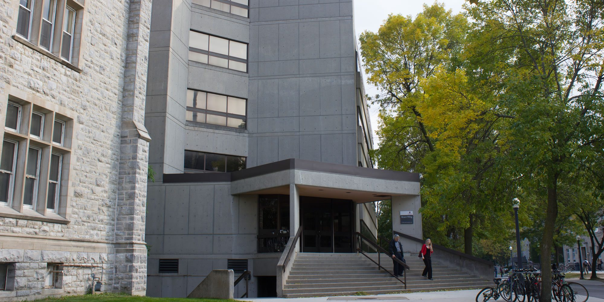 Goodwin Hall at Queen's University - home of the Robert M. Buchan Department of Mining